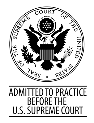 Admitted to Practice Before the U.S. Supreme Court